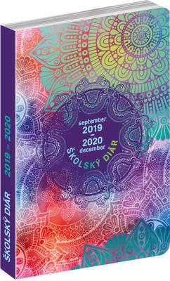 Obrázok Školský diár Mandala 2019-2020