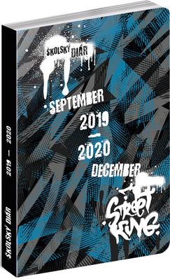 Obrázok Školský diár Street 2019-2020