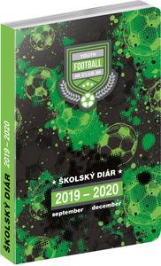 Obrázok Školský diár Futbal 2019-2020