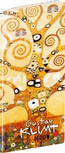 Obrázok Vreckový diár Gustav Klimt 2020 (Plánovací mesačný)