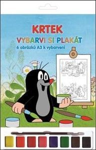 Obrázok Krtek Vybarvi si plakát