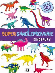 Obrázok Super samolepkovanie Dinosaury