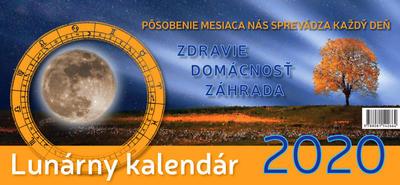 Obrázok Lunárny kalendár 2020 (Stolový kalendár)