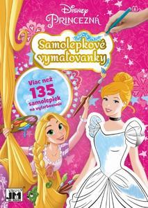 Obrázok Samolepkové vymaľovanky Disney Princezná