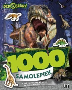 Obrázok 1000 samolepiek Dinosaury