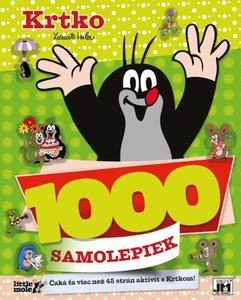Obrázok 1000 samolepiek Krtko