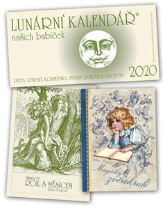 Obrázok Lunární kalendář našich babiček 2020 + Magický zvěrokruh +Třináctý rok s Měsícem