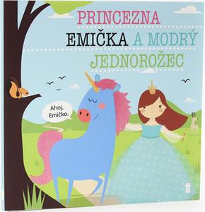 Obrázok Princezna Emička a modrý jednorožec