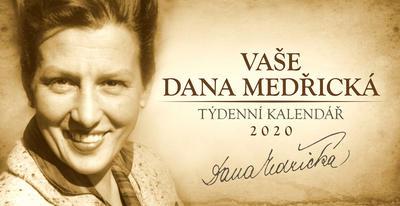 Obrázok Vaše Dana Medřická - stolní kalendář 2020