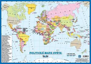 Obrázok Politická mapa světa A3