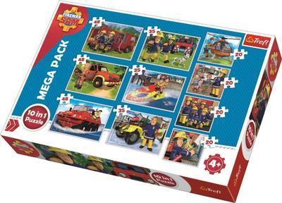 Obrázok Puzzle Požárník Sam 10v1