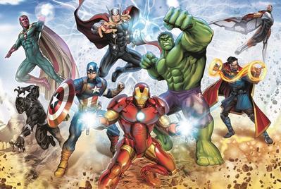 Obrázok Puzzle Avengers