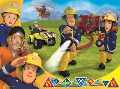 Obrázok Puzzle Požárník Sam zasahuje