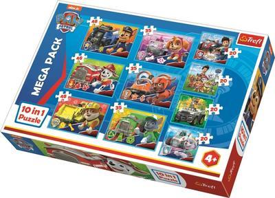 Obrázok Puzzle Tlapková patrola 10v1