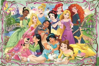 Obrázok Puzzle Disney princezny: Setkání princezen