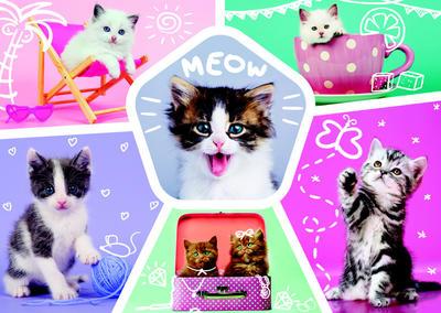 Obrázok Puzzle Roztomilá koťata