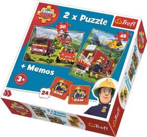Obrázok Puzzle Požárník Sam + pexeso