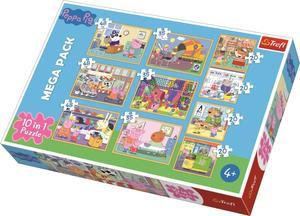 Obrázok Puzzle Prasátko Peppa 10v1