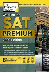 Obrázok Cracking the SAT Premium Edition with 8 Practice Tests, 2020