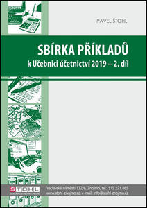 Obrázok Sbírka příkladů k Učebnici účetnictví 2019 - 2. díl