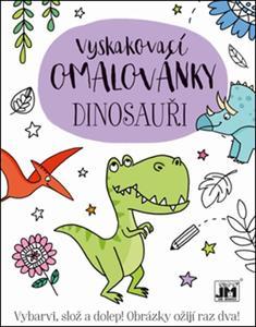 Obrázok Vyskakovací omalovánky Dinosauři