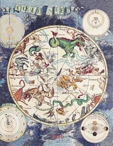 Obrázok Diář Celestial Planisphere 2020 VER