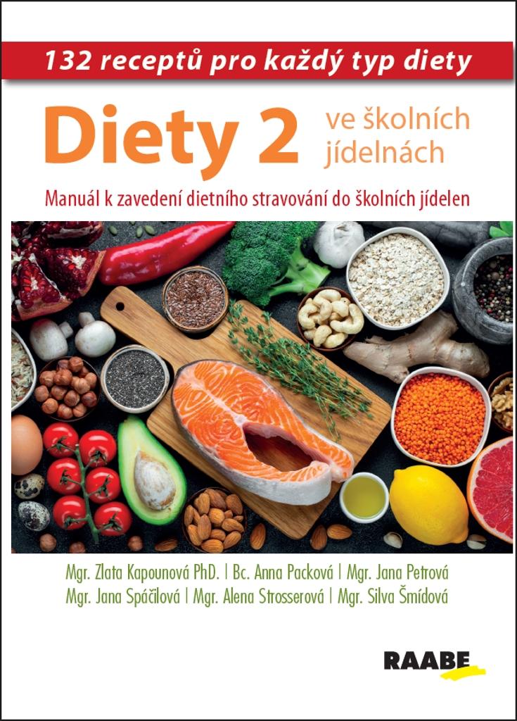 Diety ve školních jídelnách 2 (132 receptů pro každý typ diety) - Alena Strosserová, Anna Packová, Jana Petrová, Jana Spáčilová, Sylva Šmídová, Zlata Kapounová