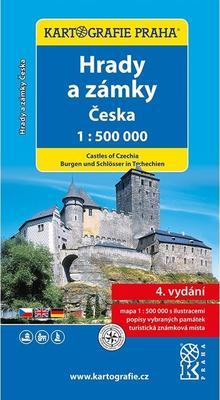 Obrázok Hrady a zámky Česka 1:500 000