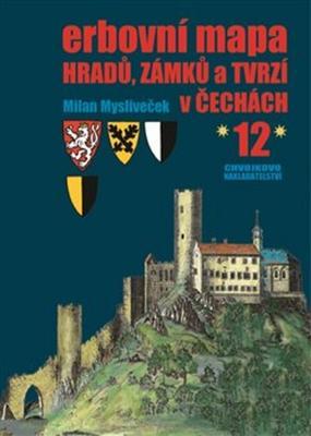 Obrázok Erbovní mapa hradů, zámků a tvrzí v Čechách 12