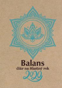 Obrázok Balans Diár na šťastný rok 2020