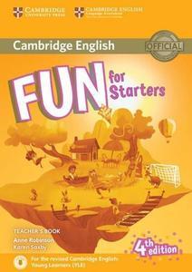 Obrázok Fun for Starters Teacher's Book 4th edition