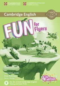 Obrázok Fun for Flyers Teacher's Book 4th edition