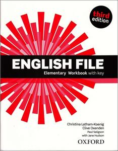 English File Third Edition Elementary Workbook with Answer Key
