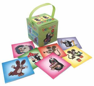 Obrázok Pexeso v krabičce Krtek