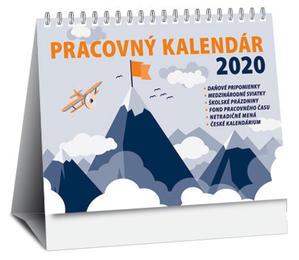 Obrázok Pracovný kalendár 2020 (stolový kalendár)