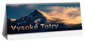 Obrázok Vysoké Tatry 2020 (stolový kalendár)