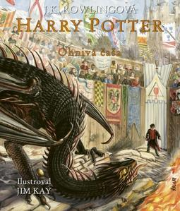 Obrázok Harry Potter a Ohnivá čaša (ilustrovaná edícia 4. diel)