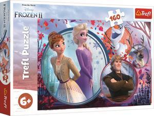 Obrázok Puzzle Ledové království 2 Sesterské dobrodružství