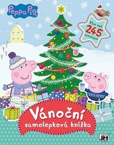 Obrázok Vánoční samolepková knížka (Prasátko Peppa)