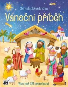Obrázok Samolepková knížka Vánoční příběh