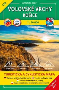 Obrázok Volovské vrchy Košice 1:50 000