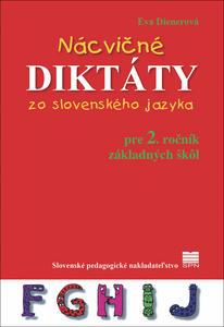Obrázok Nácvičné diktáty zo slovenského jazyka pre 2. ročník základných škôl