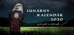 Obrázok Lunárny kalendár 2020 pre pole a záhradu od Pavla (stolový kalendár)