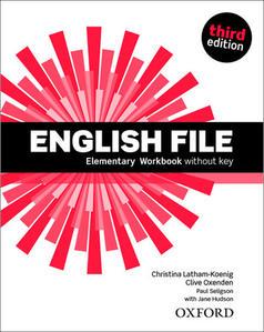 Obrázok English File Third Edition Elementary Workbook Without Answer Key
