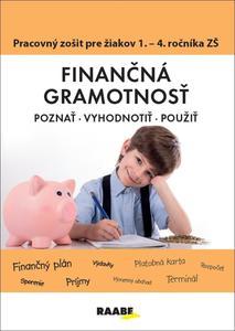 Obrázok Finančná gramotnosť Pracovný zošiť pre žiakov 1. - 4. ročníka ZŠ