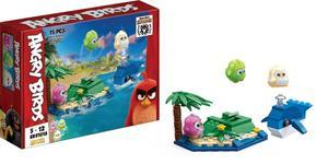 Obrázok Edukie stavebnice Angry Birds ostrov s velrybou
