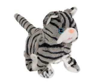 Obrázok Kočka plyšová se zvukem, chodící a běžící