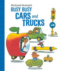 Obrázok Richard Scarry's Busy Busy Cars and Trucks
