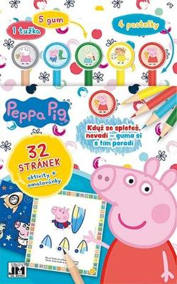 Obrázok Aktivity s gumami Peppa Pig