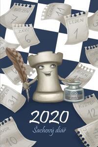 Obrázok Šachový diář 2020